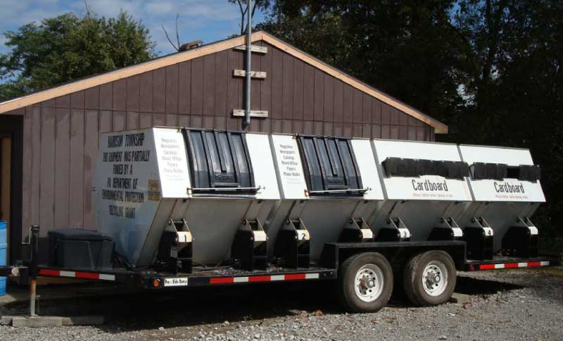 Township Recycling Trailer